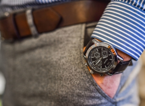 70881e3e0 Noste na ruke hodinky, ktoré vám presne povedia, či stíhate alebo opäť raz  meškáte