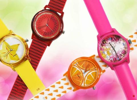 cbd1d690af5 Originálne dámske hodinky vo výrazných farbách - svieži doplnok