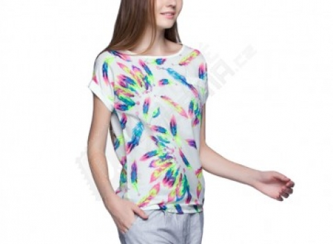 Hravé dámske tričko do nepohody - rôzne motívy 2978ea24afa