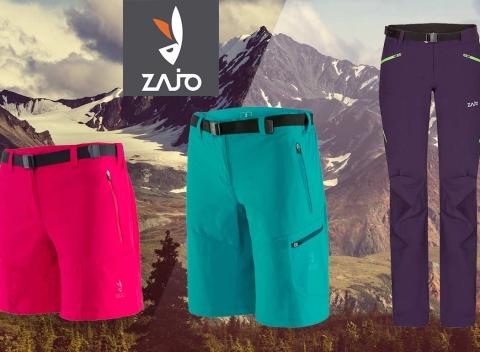 3327063cfefb Turistické nohavice ZAJO pre dámy - krátke modely na leto