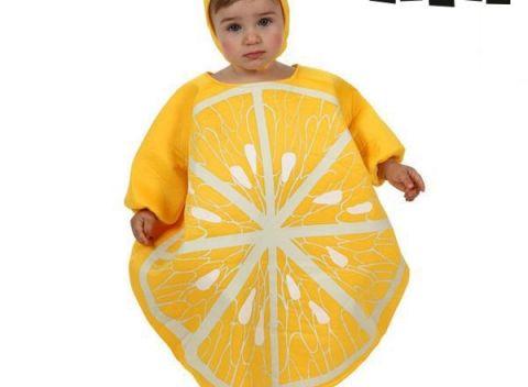 Roztomilý kostým na karnevalovú párty pre deti - Th3 Party Citrón. 767c45b8226