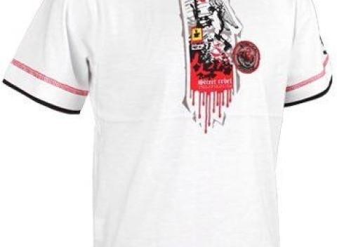 Biele chlapčenské tričko Street Rebel z bavlny. Vyrobené z veľmi príjemného  materiálu. cd327f3ad0d