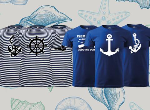 846c15dc1ce5 Vodácke dobrodružstvá s novým tričkom. Na výber z viacerých motívov pre  dámy i pánov.