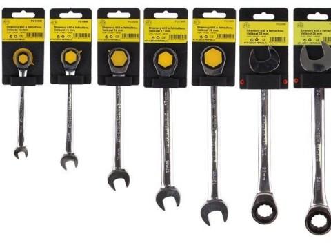 Kvalitné náradie od českej firmy ATX - sada 7 stranových kľúčov s rapkáčom. a3caa065f2d