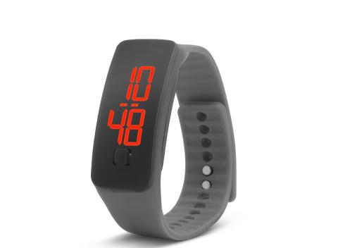 4c82da9cc Jednoduché, ľahko ovládateľné silikónové hodinky- sivé - športové nosenie  aj na všedné dni.