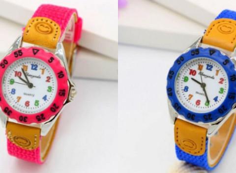 Krásne farebné detské hodinky s kvalitným remienkom. Výber z viacerých  farieb. c39d7c0b05