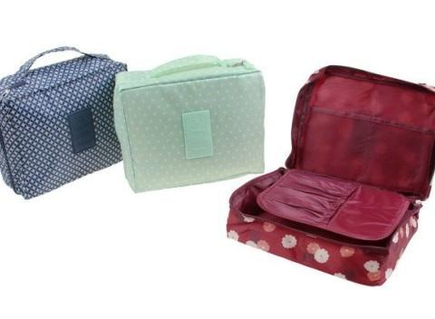9f07e90bf Kozmetická taška Travel Multi pouch - nádherná kozmetická taštička s  priehradkami.