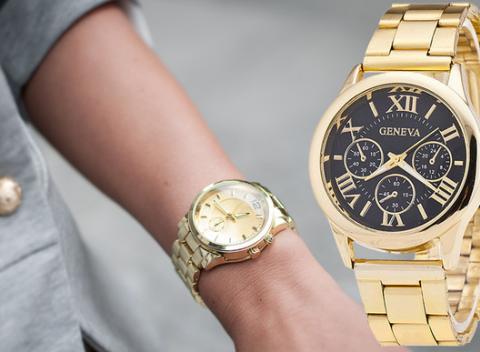 Štýlové dámske športové či elegantné hodinky Geneva. Jedným z  neodmysliteľných módnych doplnkov pravej ženy sú bed5b9f652c