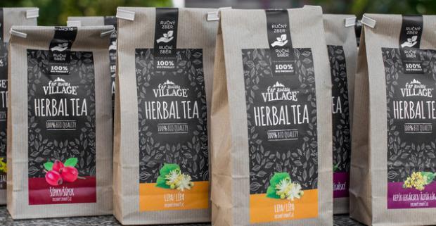 Liečivé bio čaje zo Strážovských vrchov (10x50g). V neporušenej prírode na voňavých lúkach a v hlbokých lesoch rastú liečivé bylinky.