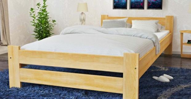 Pohodlné a kvalitné postele Vito z masívu vrátane roštu a matracu Comfort. Dobrý spánok je predzvesťou úspešného dňa.