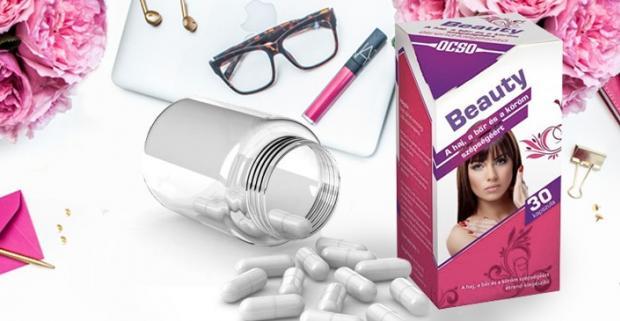 Beauty 30tbl- pre zdravú pleť, vlasy a nechty. Budťe krásna aj vďaka komplexu vitamínov pre zdravšiu pleť, silnejšie vlasy a nechty.