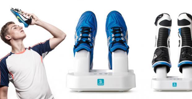 Automatický sušič topánok s dezinfekciou. Tak toto je naozaj praktická vec! Nič sa nevyrovná pocitu suchých nôh v suchých topánkach.