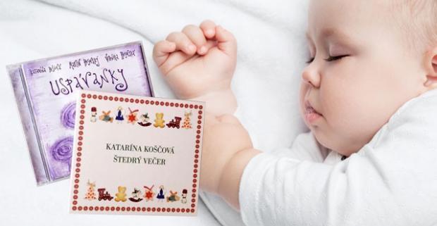 Vianočná limitovaná hudobná edícia: CD Uspávanky a Štedrý večer v podaní Katky Koščovej. Nechajte sa ukolísať s najmenšími do ríše snov.