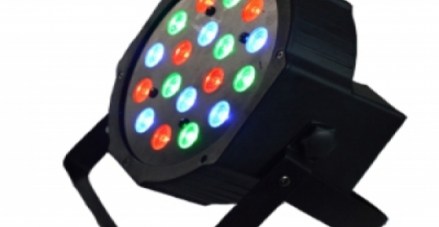 Profesionálne mini LED svetlá, s vysokou výkonnosťou. Prenosný sveteľný zdroj pre diskotéky, zábavy a rôzne oslavy.