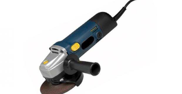 STRAUS - 650 wattová uhlová brúska. Vďaka malým rozmerom je všestranne využiteľná a nemala by chýbať vo vašej dielni.