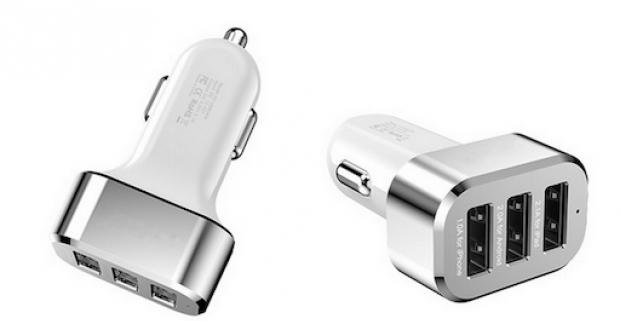 Trial USB autonabíjačka. Univerzálna USB nabíjačka do cigaretového zapaľovača je tou pravou voľbou pre vodičov.