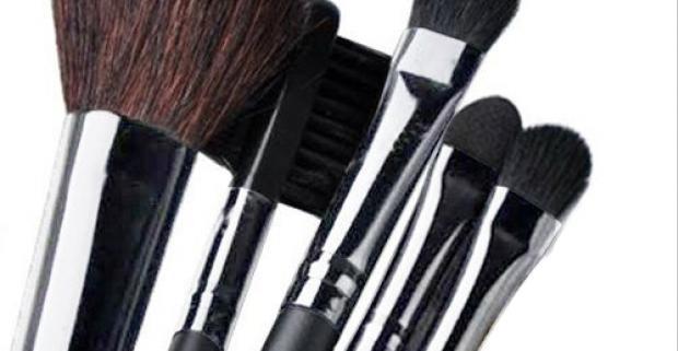 Ako inak by sa mohlo začať ráno skutočnej ženy ako make-upom? 5 kusov starostlivo vybraných polo-profesionálnych štetcov na make-up.