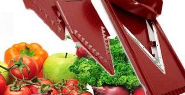 3 dielný set na krájanie a strúhanie zeleniny a ovocia. Nepostrádateľná kuchynská pomôcka pri výrobe šalátov, polievok a iných jedál.