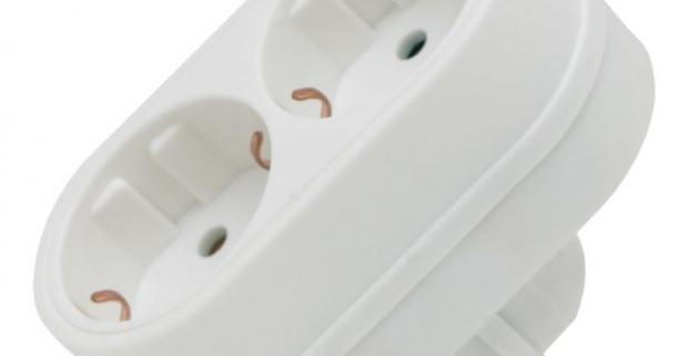 Praktický a elegantný rozbočovač s 2 zásuvkami a uzemnením podľa nemeckej normy. Skvelý pomocník, na pripojenie viacerých prístrojov.