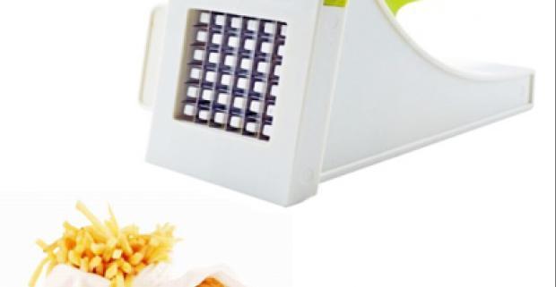 Krájač na hranolky. Ideálny na ľahké a rýchle krájanie hranoliek zo surových zemiakov, zeleniny na šalát, ovocia.