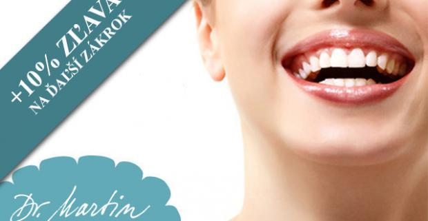 Krásny, žiarivý a zdravý úsmev vďaka dentálnej hygiene v Martin Dental Clinic. Využite skvelú akciu na profesionálnu starostlivosť.