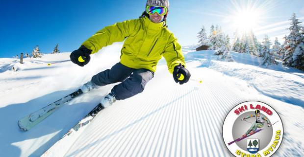 Zábava a oddych počas perfektnej lyžovačky v centre Skiland Stará Myjava. Celodenný skipass pre dospelých, seniorov a deti do 12 rokov.