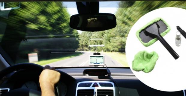 Stierka Windshield Wonder. Táto perfektná stierka pomáha efektívne, rýchlo a bez námahy vyčistiť sklo vášho vozidla.
