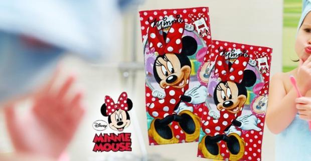 Uteráčik s motívom roztomilej postavičky Minnie rozhodne urobí radosť malej slečne a uvidíte, že si už nikdy nezabudne umyť svoje rúčky.