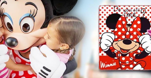 Hrejivá deka s motívom obľúbenej postavičky Minnie Mouse bude dokonalým doplnkom v detskej izbe každej mladej slečny.