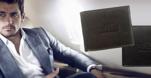 Pánska kožená peňaženka ALWAYS WILD. Kvalitná peňaženka z eko kože luxusného vzhľadu sa stane nevyhnutným doplnkom každého štýlového muža.