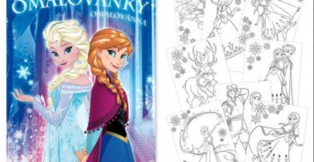 Omaľovánky s motívmi z veľmi obľúbenej detskej rozprávky Ľadové Kráľovstvo. Na obrázkoch nájdete Elsu, Annu, Olafa alebo Kristoffa.