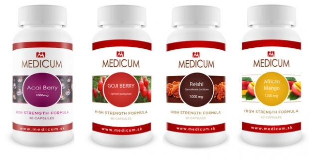 Vitamíny pre vaše zdravie Široké spektrum výživových doplnkov od Medicum