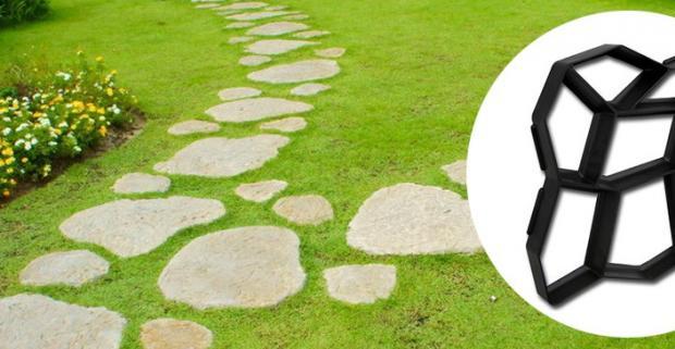 Získajte záhradu snov vďaka praktickej forme na výrobu betónového chodníka. Vaša záhrada získa okamžite atraktívnejší vzhľad.
