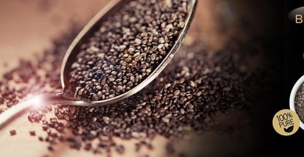 Semienka CHIA 500g! Zdravé emienka Chia sú potravinou, ktorá je ako doplnok stravovania ideálna v podstate pre každého, komu chýba energia.
