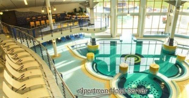 Relaxačný pobyt pre dvoch v maďarskom kúpeľnom meste Sárvár s ubytovaním v Apartman Hotel Sárvár*** s raňajkami alebo polpenziou.