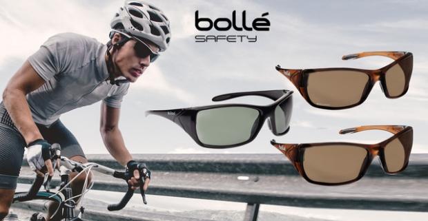 54cefd60f Slnečné okuliare značky Bolle Safety so 100 % UV ochranou. Na výber z 3  druhov.