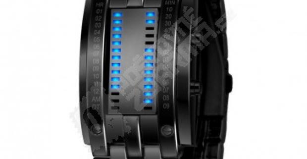 Binárne LED hodinky pre skutočných fajnšmekrov b62df8be29f