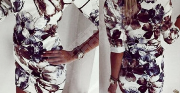 Elegantní dámské mini šaty vhodné pre každodenné nosenie 726e9118a8f