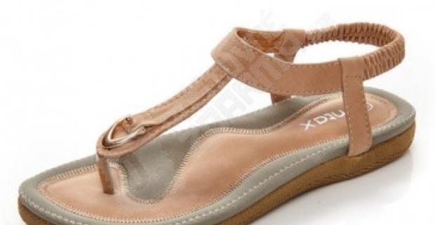 04a33275f4e1 Pohodlné a mäkké dámské sandále - na výber 2 farby
