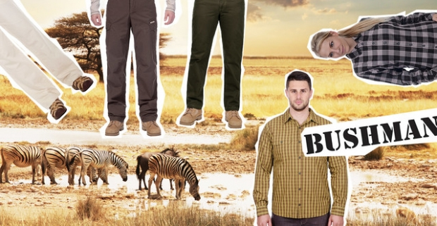 e32ab26fa Pohodlné košele a nohavice v originálnom dizajne BUSHMAN pre dámy aj pánov.