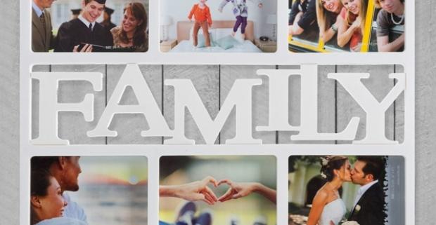 ca74d5fe93d8 Rámček na rodinné fotky Family (6 fotiek). Vystavte si najkrajšie spomienky.