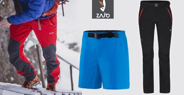 bf7d26028f7a Pánske turistické nohavice ZAJO. Každá poriadna túra začína výberom  kvalitného oblečenia.