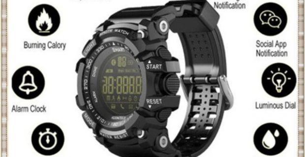 01906d85879 Inteligentné a vodeodolné pánske športové hodinky s bluetooth a kamerou.