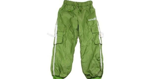 975b05cb2 Dievčenské zelené otepľovačky s príjemného materiálu, veľ. 140 ...