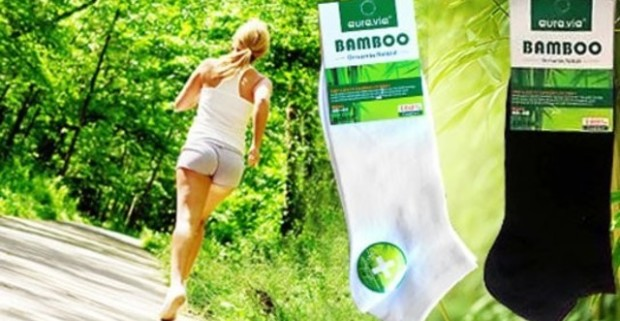 Pohodlnnéa elastické členkové ponožky a ťapky z prírodného bambusového  vlákna. Alfa shop s. r. o.. 0   5. 57 deb7b6faf9