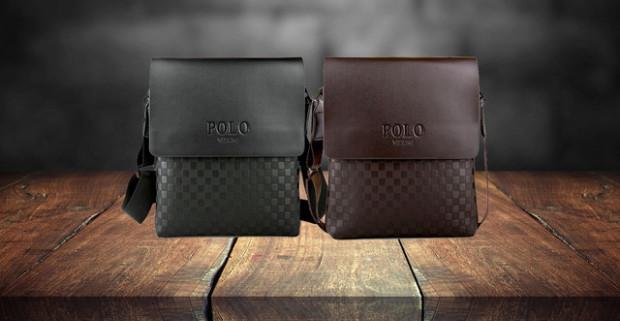 059eb181d Pánska taška POLO. Štýlová a elegantná pánska taška na plece, do ktorej sa  pohodlne všetky vaše veci.