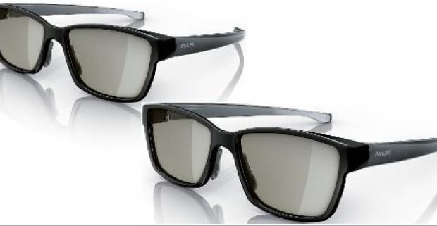 3D okuliare Philips PTA436 kompatibilné s TV Philips. Okuliare na hry pre 2 hráčov na celej obrazovke pre televízory s technológiou Easy 3D.