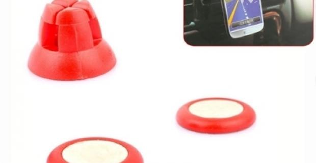 Magnetický držiak na mobilný telefón, ideálny pomocník do auta. Jednoduchá montáž a používanie, kompatibilný s každým typom mobilu.