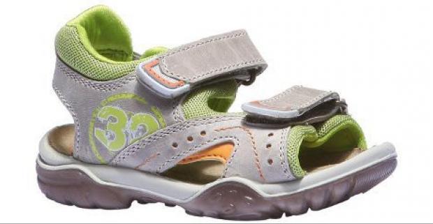 a339a4400863 Chlapčenské kožené sandále Pohodlný strih s tvarovanou podošvou ...