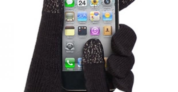 Rukavice pre dotykové displeje majú na palci, ukazováku a prostredníku materiál, na ktorý reaguje dotykový displej.
